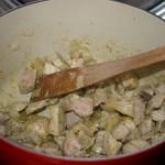 Préparation du porc à l'ananas (2)