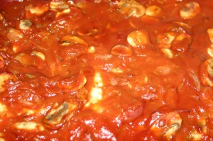 Quenelles brochet tomate champignon