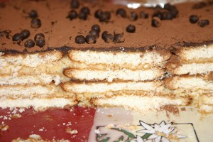 Gâteau petits beurres, crême de marron